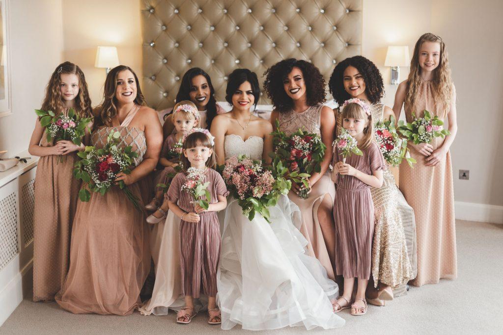 Jodi and Jade wedding photography Dublin Wexford bridesmaids