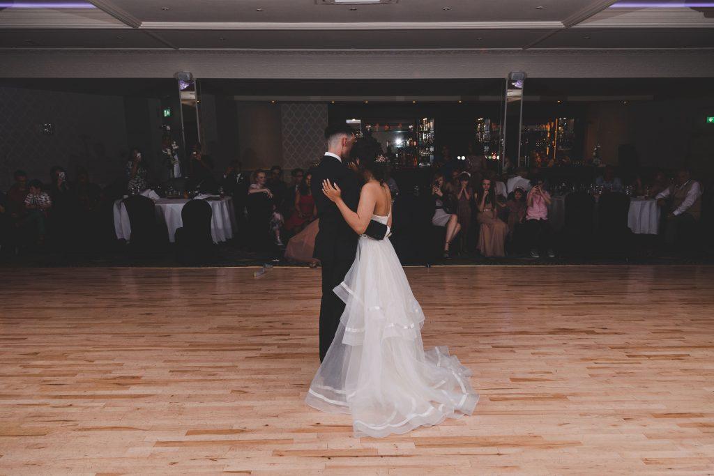 Jodi and Jade wedding photography Dublin Wexford first dance