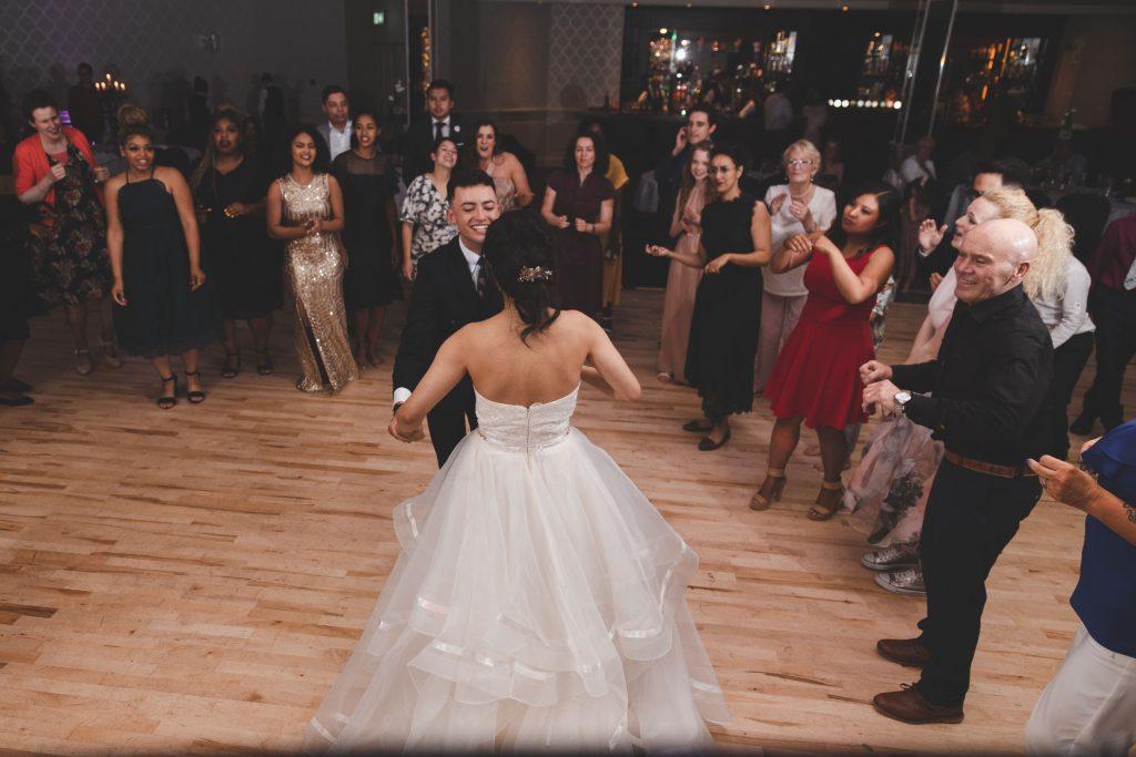 Jodi and Jade wedding dance photography Dublin Wexford