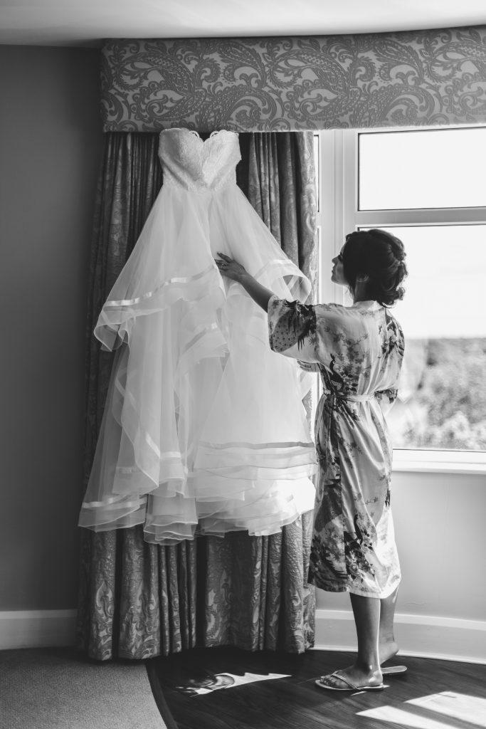 Jodi and Jade wedding photography Dublin Wexford dress