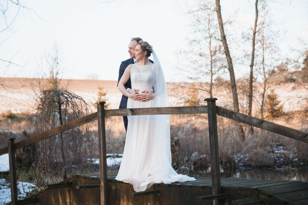 Luke and Kate banbury oxfordshire winter wedding