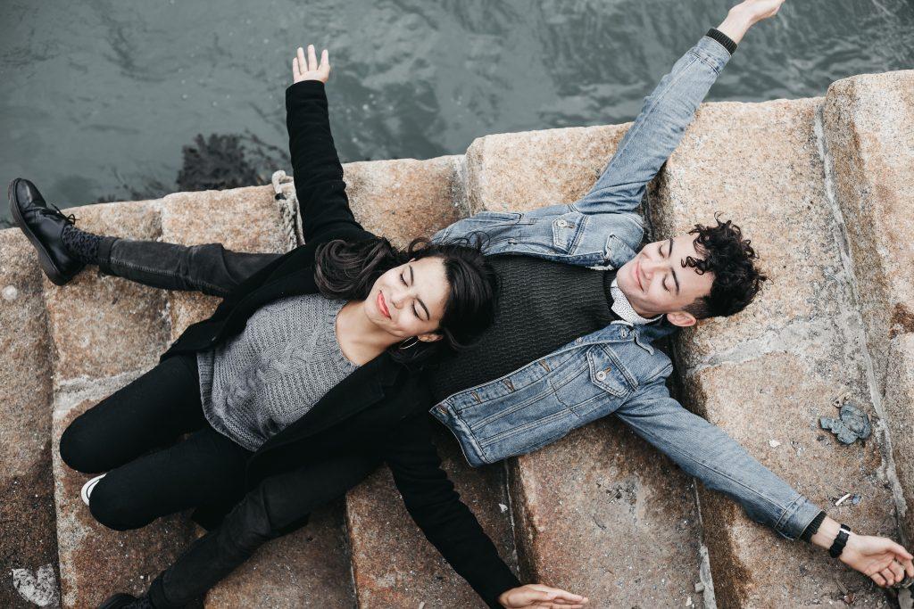 Jodi + Jade Howth engagement shoot irish couple