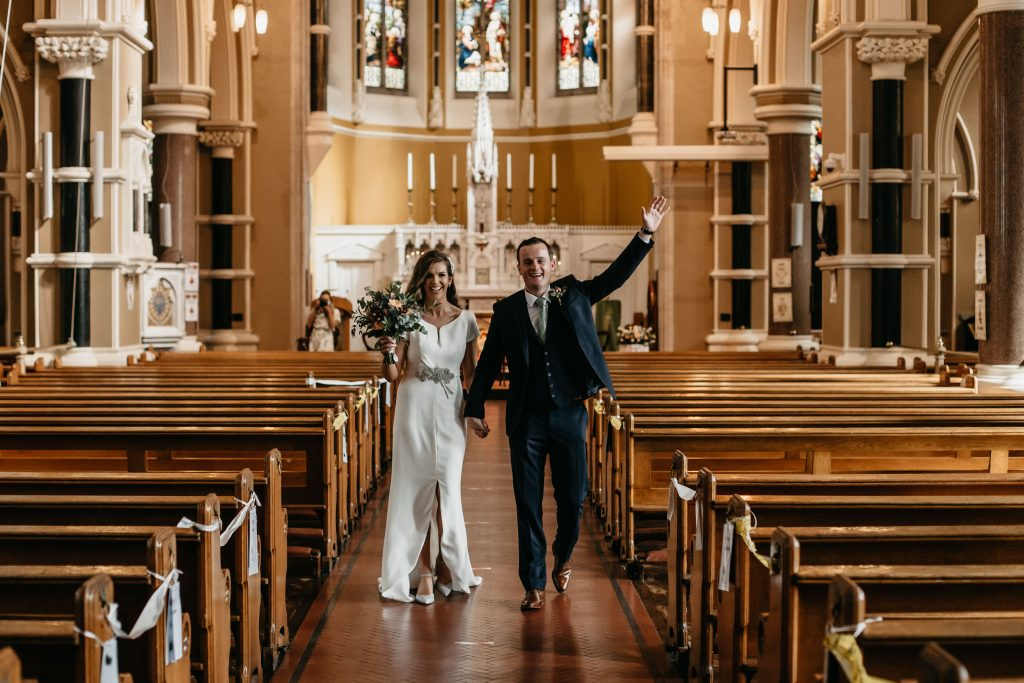 Gemma and Paddy New Ross wedding St. Mary and Michael Catholic Church