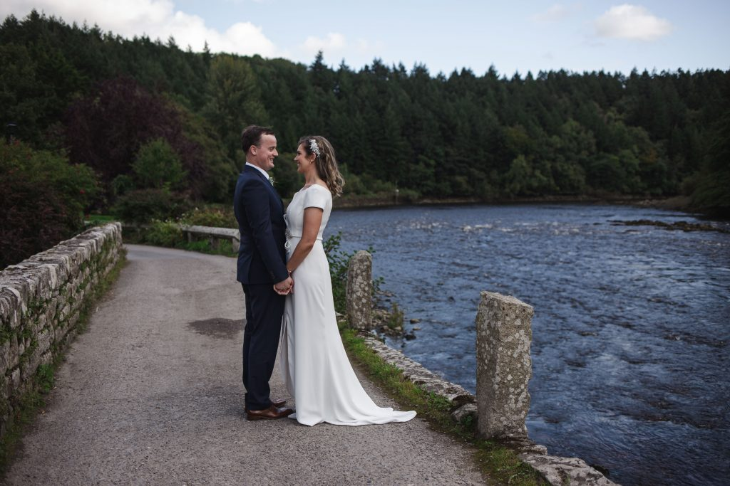 Gemma and Paddy New Ross wedding couple