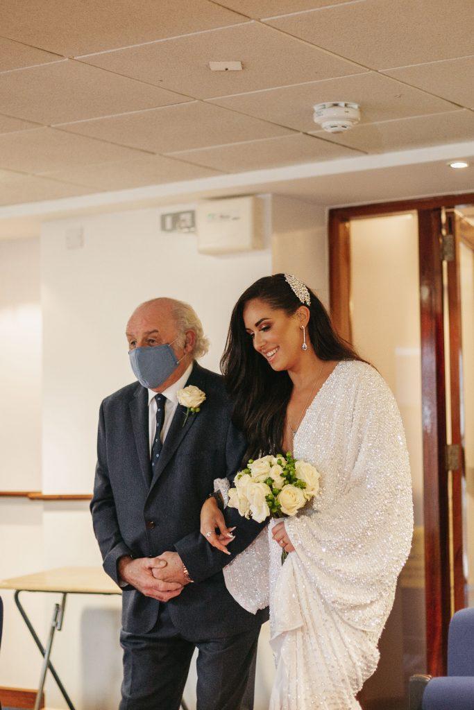 Troy and Laura Dublin City Covid Wedding